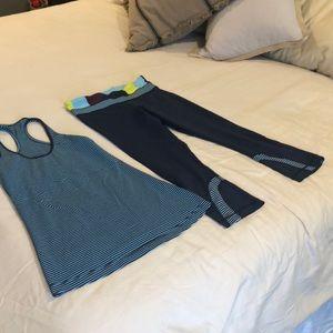 Lululemon workout set